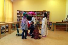 Kinder-Theaterwerkstatt im Hort der Schule St. Joseph 2012/2013